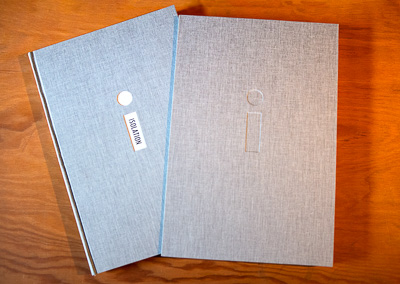 THe completed Isolation book ©Paul Nylander