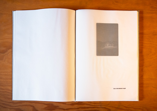 A look inside the Isolation Book © Paul Nylander
