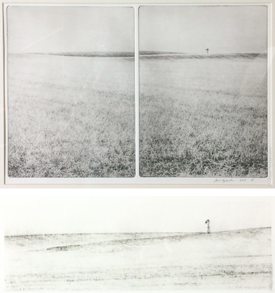 A photogravure diptych of the sping windmill ©Paul Nylander