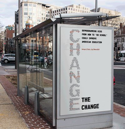 Change the Change poster